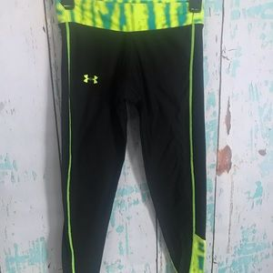 Girls under armour running pants